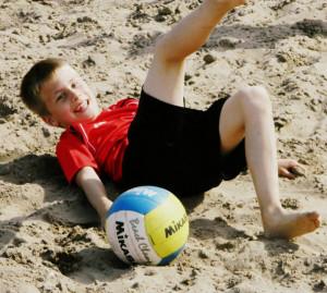 Beachvolleybal in Blokker