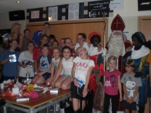 Sinterklaas op bezoek in Hoorn