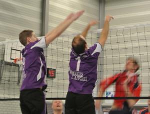 Volleyballen met heren 1